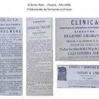 """Publicación - Publicidades del periódico """"El Entre Ríos""""  de Paraná"""