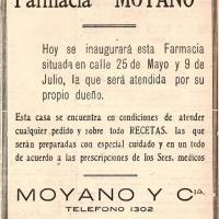 Publicación - Farmacia Moyano